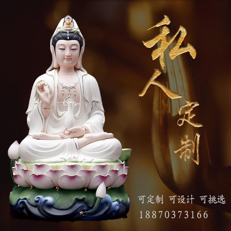 景德镇和天下陶瓷佛像厂家直销与定制